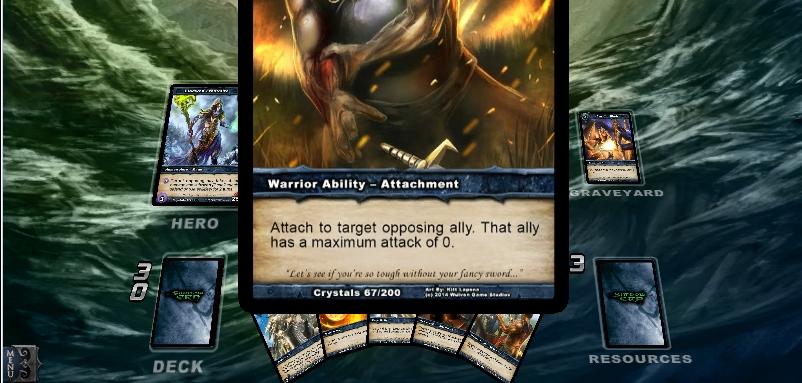 Capture d'écran Shadow Era Android