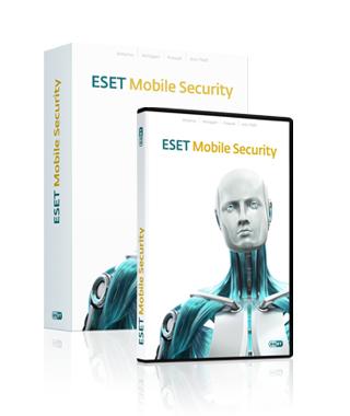 Capture d'écran ESET Mobile Security