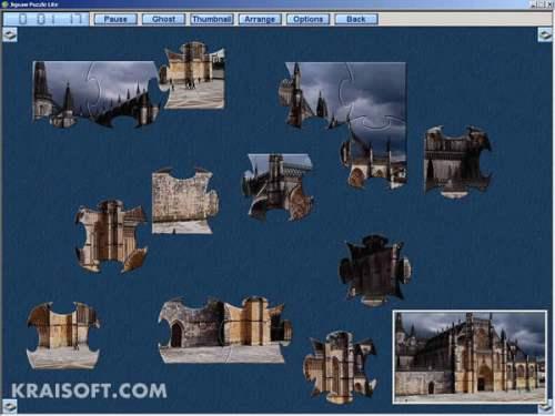 Capture d'écran Jigsaw Puzzle Lite