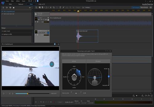 Capture d'écran Cyberlink Audio Director