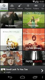 Capture d'écran PlayerPro Music Player