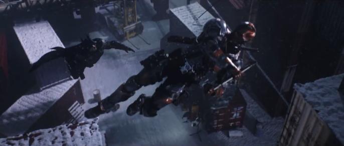 Capture d'écran Batman Arkham Origins