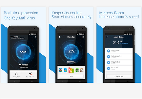 Capture d'écran CY Security Antivirus Free Android