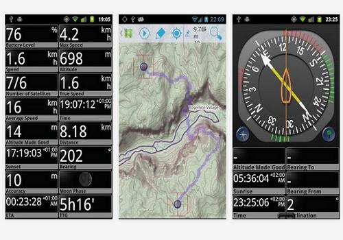 Capture d'écran GPS Essentials Android