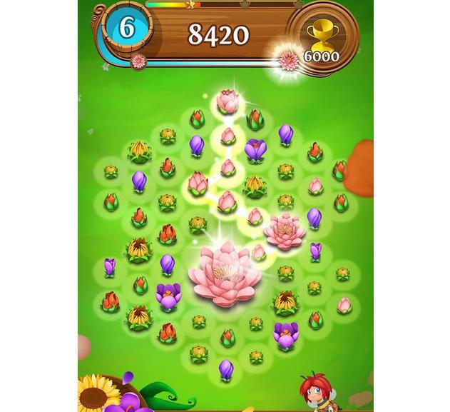 Capture d'écran Blossom Blast Saga iOS