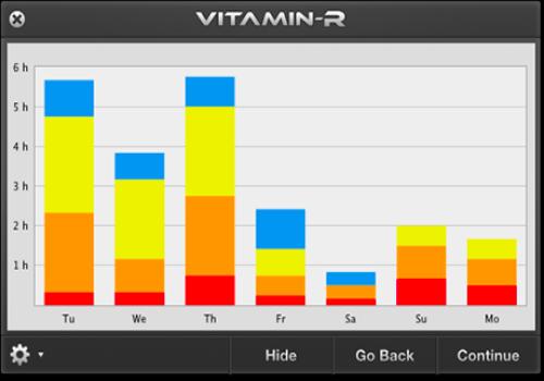 Capture d'écran Vitamin-R Mac