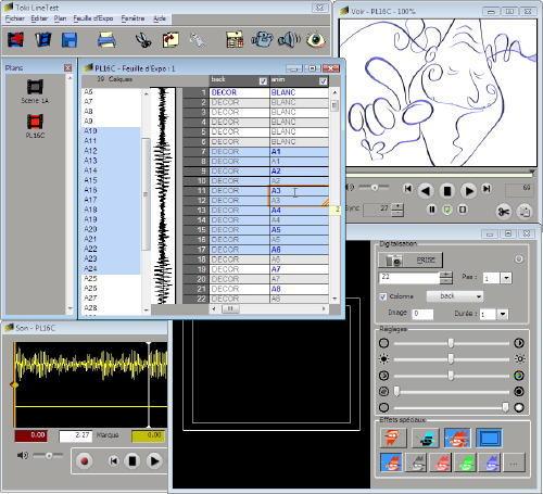 Capture d'écran Toki LineTest HD pour Windows