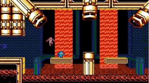 Capture d'écran Mega Man 2.5D