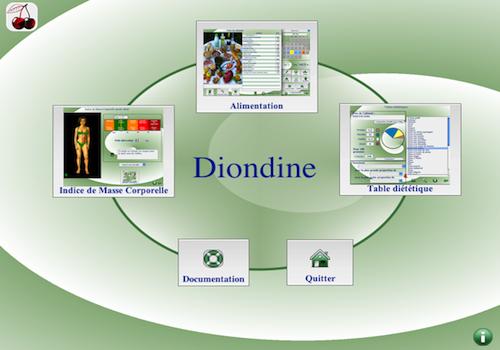 Capture d'écran Diondine Mac Version 6