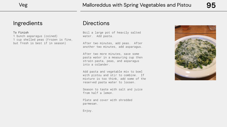 Capture d'écran Open Source CookBook