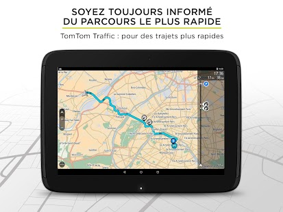 Capture d'écran TomTom Navigation GPS Traffic