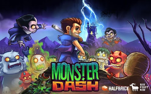 Capture d'écran Monster Dash