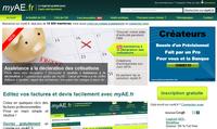 Capture d'écran Logiciel myAE – Devis et Facture pour auto entrepreneur