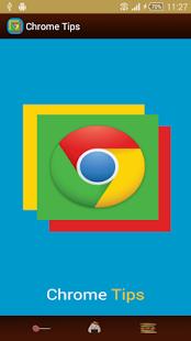 Capture d'écran Chrome Tips