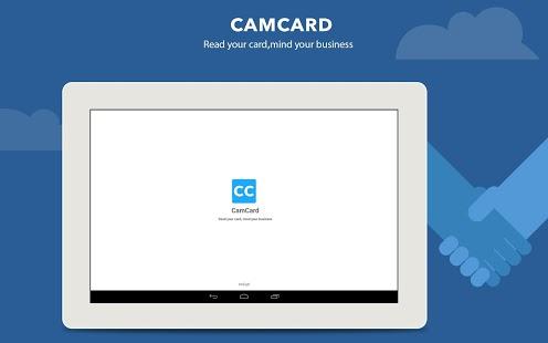 Capture d'écran CamCard – Business Card Reader