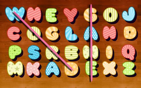 Capture d'écran Jeux de mots
