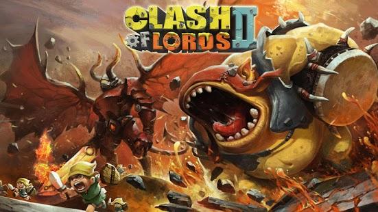 Capture d'écran Clash of Lords 2