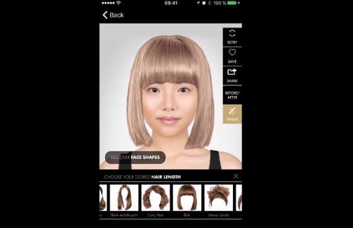 Capture d'écran Style my Hair pour iOS