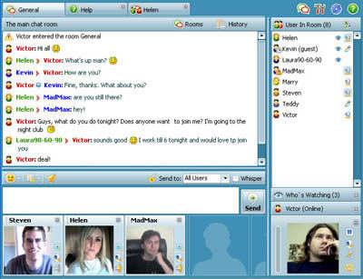 Capture d'écran Community Video Chat