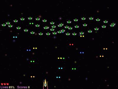 Capture d'écran AstroFleas