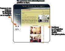 Capture d'écran EBP Web Immobilier