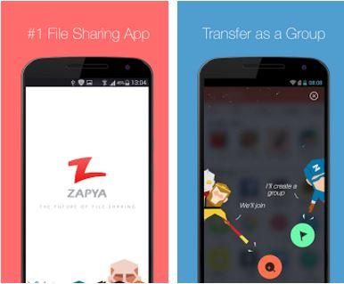 Capture d'écran Zapya Android