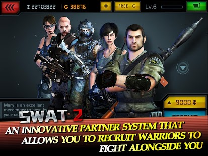Capture d'écran SWAT 2