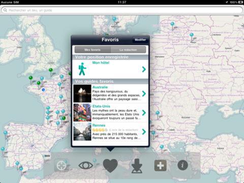 Capture d'écran L'internaute Voyage iOS