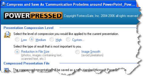 Capture d'écran PowerPressed for PowerPoint