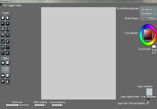 Capture d'écran Speedy Painter