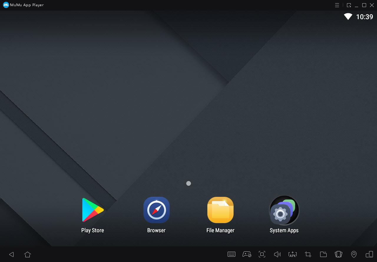 Capture d'écran Mumu App Player
