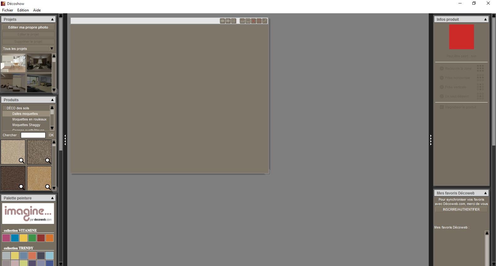Capture d'écran Décoshow