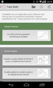 Capture d'écran Tube Math