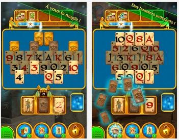 Capture d'écran Pyramid Solitaire Saga Android