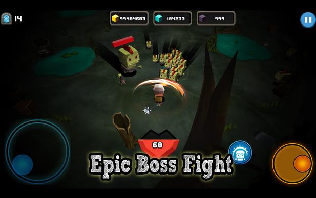 Capture d'écran Survive Mr. CUBE! Android