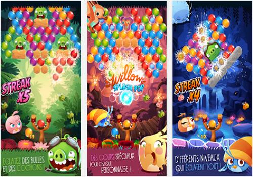 Capture d'écran Angry Birds Stella Pop iOS