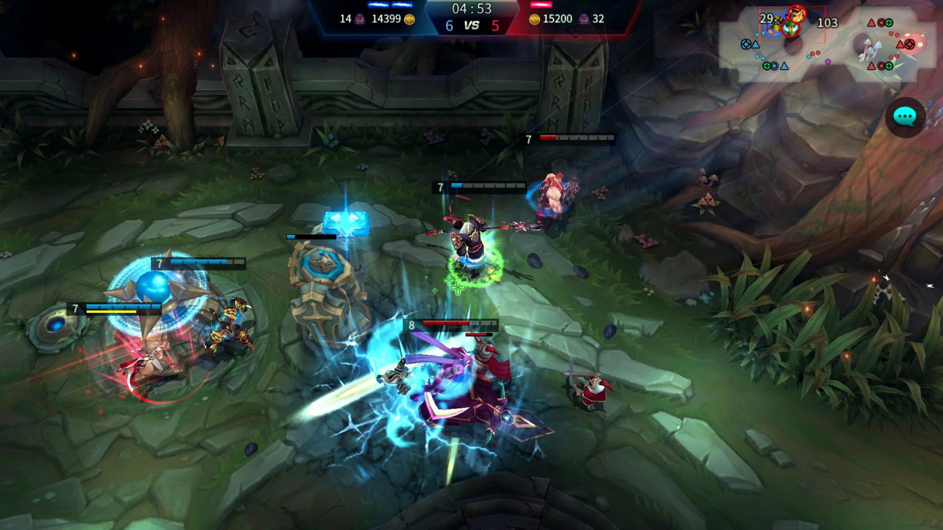Capture d'écran Iron League Android
