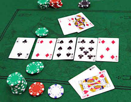 Capture d'écran Flash Poker 99