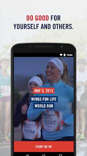Capture d'écran Wings for Life World Run