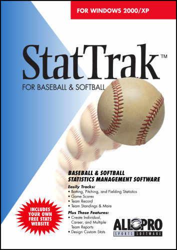 Capture d'écran StatTrak for Baseball / Softball
