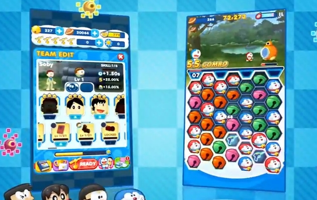 Capture d'écran Doraemon gadget Rush Android