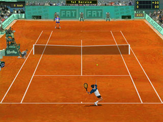 Capture d'écran Tennis Elbow 2006