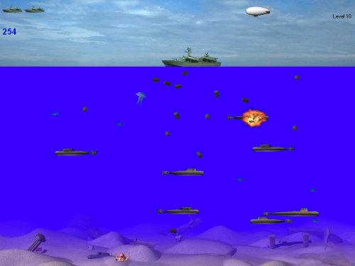 Capture d'écran SubmarineS (Français)
