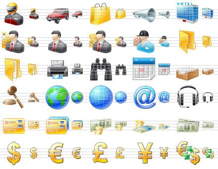 Capture d'écran Cool Toolbar Icons