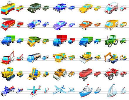 Capture d'écran Standard Transport Icons