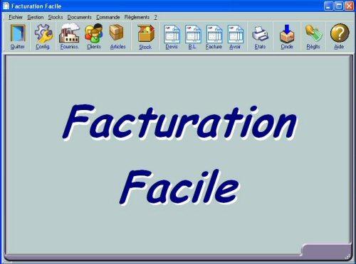 Capture d'écran FactFacile Réseau