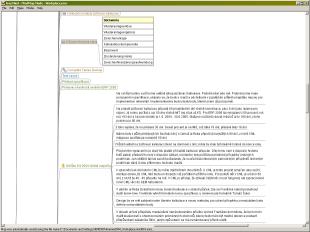 Capture d'écran FreeMind Mac