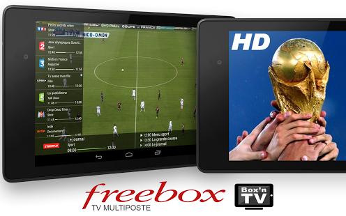 Capture d'écran Box'n TV Android