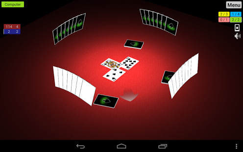 Capture d'écran Spades 3D
