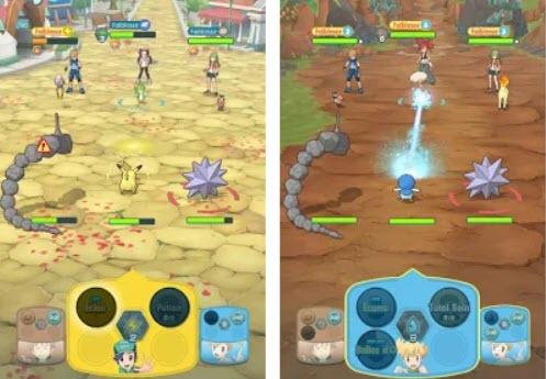 Capture d'écran Pokémon Masters Android